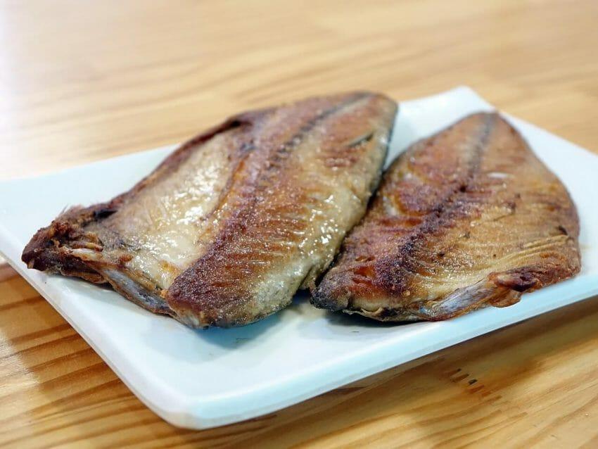 Gillad fisk är enkelt och gott